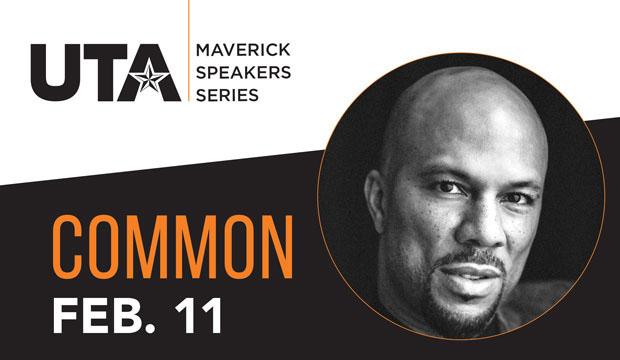 Common at Maverick Speakers Series Feb. 11