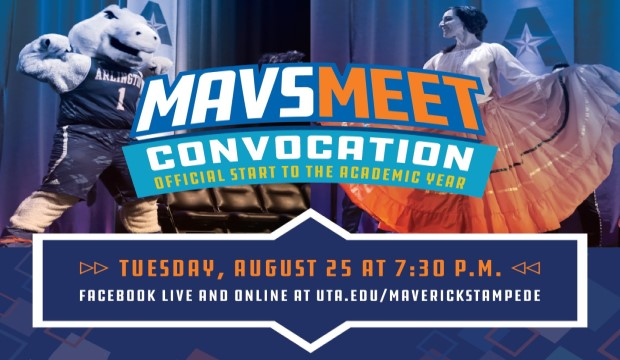 MavsMeet Convocation: Tuesday, Aug. 25