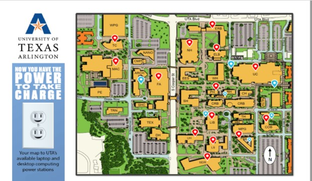 Computing Study Spaces Map