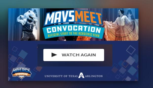 MavsMeet Convocation: Watch Again