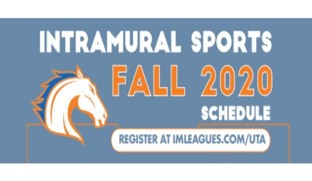 Intramural sports fall 2020