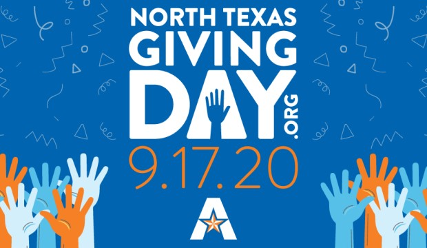 North Texas Day of Giving is Sept. 17, 2020.