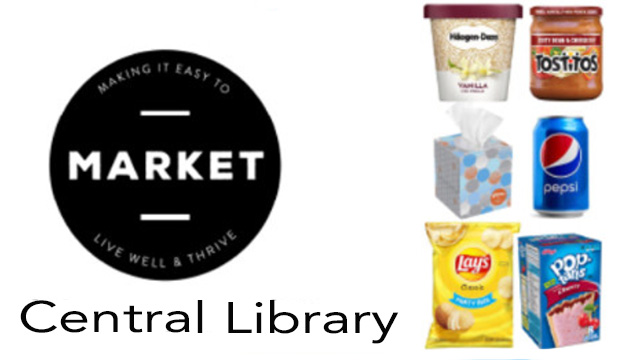 Market at Central Library