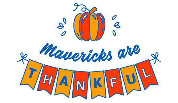 Mavericks are Thankful