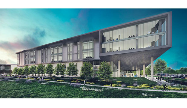 Design of new School of Social Work and Smart Hospital building.