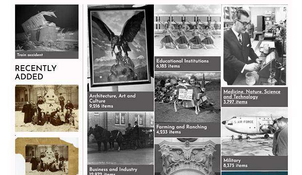 UTA Libraries enhanced digital gallery