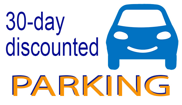 30-day discounted parking