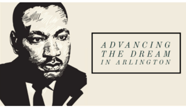 Martin Luthern King Jr.: Advancing the Dream in Arlington.