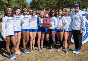 women's cross country SBC champions