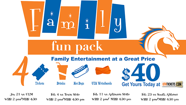 Family Fun Pack $40