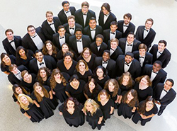 a cappella choir 2015-16