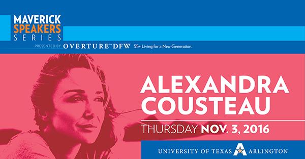Maverick Speakers Series, Alexandra Cousteau