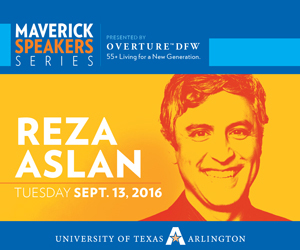 Reza Aslan, Maverick Speakers Series