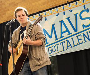 Mavs Got Talent audition