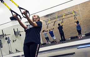 TRX exercise class