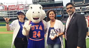 UTA Night at Rangers 2016