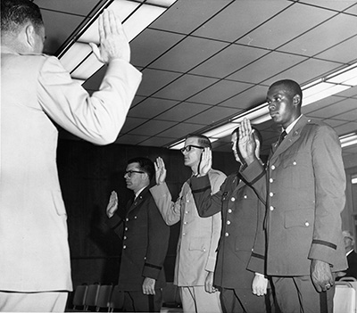 first black ROTC cadet