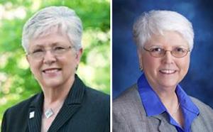 Dr. Carolyn Cason and Dr. Joy Don Baker