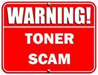 toner scam