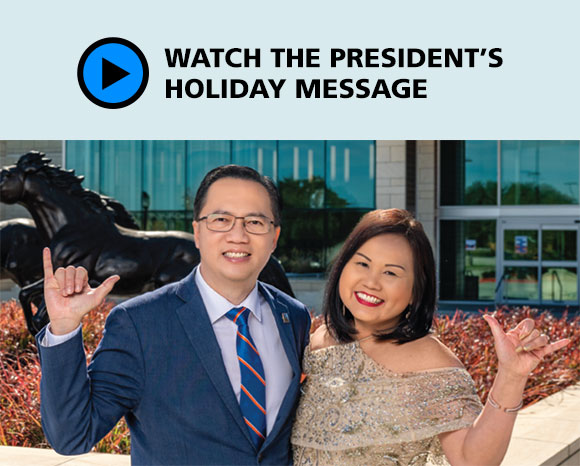 Watch the president's holiday message