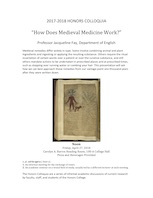 How Does Medieval Medicine Work?