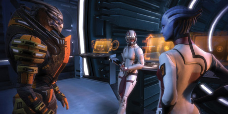 image from Mass Effect 3 video game