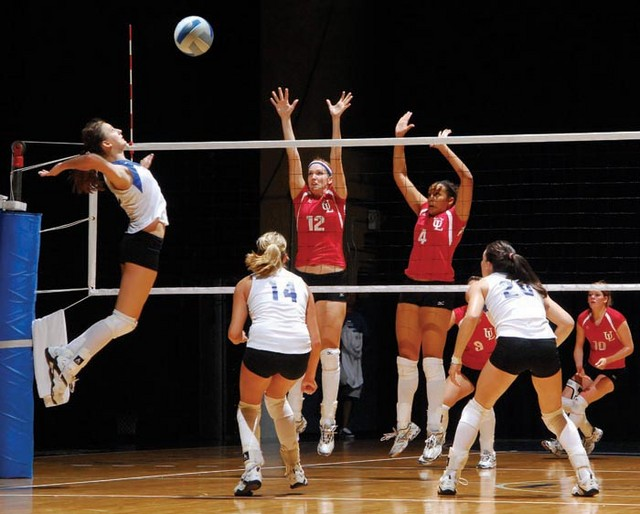 pics of volleyball. Volleyball in Texas Hall