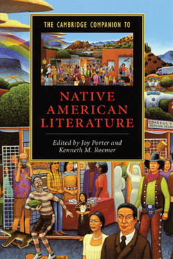 book cover for Native American Literature