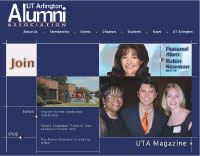 Alumni Association homepage