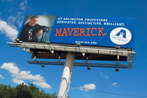 Be A Maverick billboard
