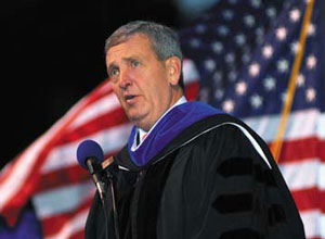 Alumnus Tommy Franks