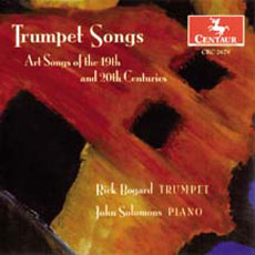 CD of Trumpet Songs