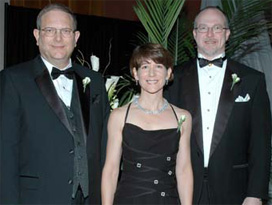 Gary Trietsch, Dr. Lenore McMackin and Dr. Ross Query