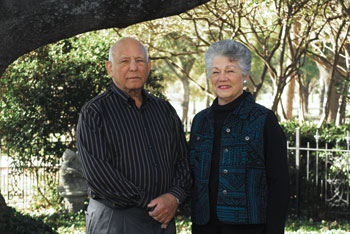 Bill Hughes and Helen Schrickel
