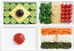 food as flags
