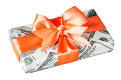 Financial gift