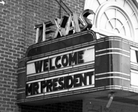JFK-Texas Marquee