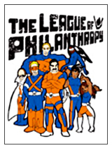 The League of Philanthropy Superheroes