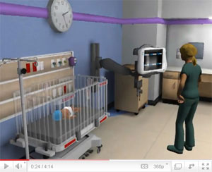 Nursing video game