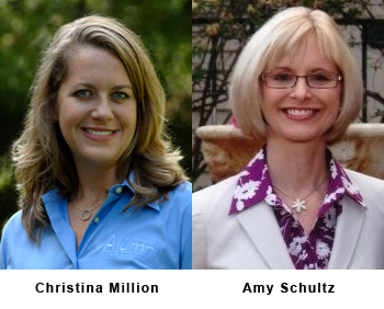 Christina Million and Amy Schultz