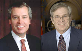 David Dewhurst and Chris Harris