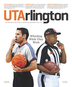 UTA Magazine cover