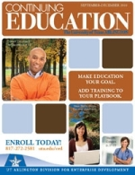 Continuing Ed Fall Cover