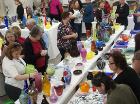 Glass art show slideshow