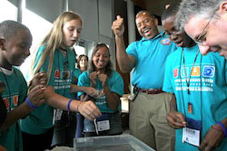 ExxonMobil Bernard Harris Summer Science Camp