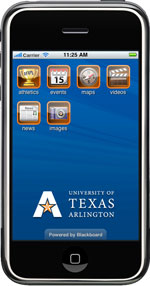 UTA iPhone app
