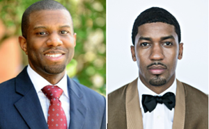 Ivory Toldson and Fonzworth Bentley