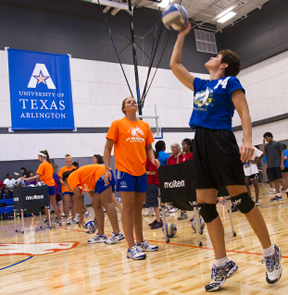Volleyball Special Olympics clinic
