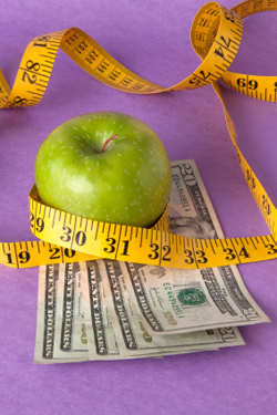 weight loss and money