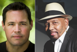 Jeff Corwin and Aaron Neville